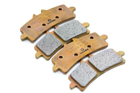 2x Pairs Of Brembo Racing M497 Z04 Brake Pads For Ducati