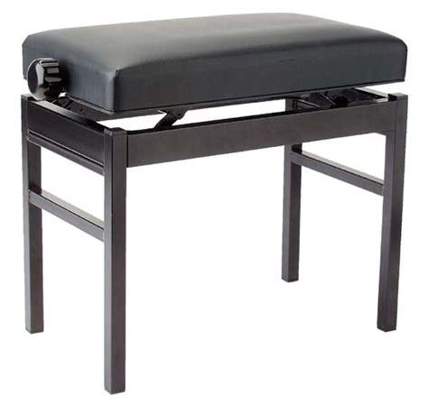 stagg pb43 bkp vbk banquette de piano noir piano buy