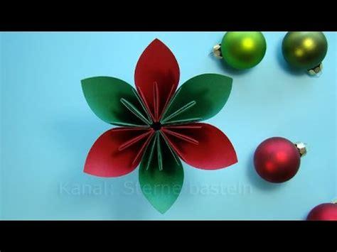 basteln weihnachten weihnachtsdeko basteln mit papier weihnachtsbasteln diy ideen