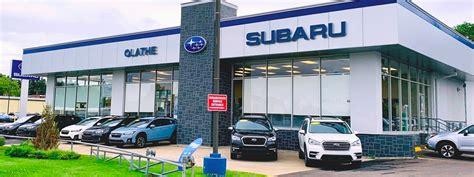 Why Buy Subaru of Olathe | Kansas Subaru Dealership near Me