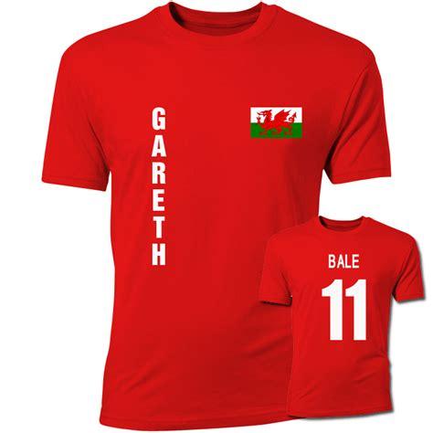 gareth bale wales flag t shirt tshirtredkids