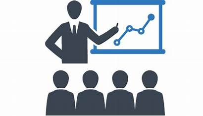 Training Icon Service Staff Services Presentation Seminar