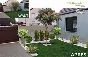 Petit Jardin Moderne : agencement petit jardin amenagement terrasse exterieure design djunails ~ Dode.kayakingforconservation.com Idées de Décoration