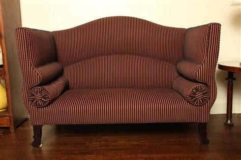 New Settees by Regency High Back Settee For Sale At 1stdibs