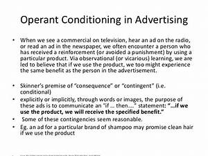 Operant Conditioning in Day to Day Life