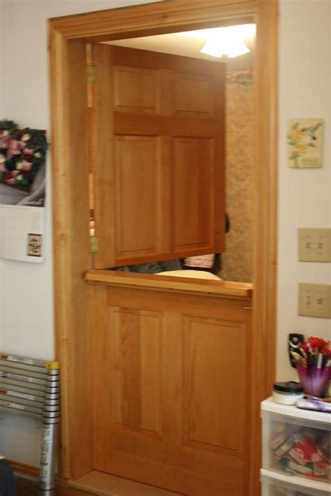 interior dutch door decorative   convert