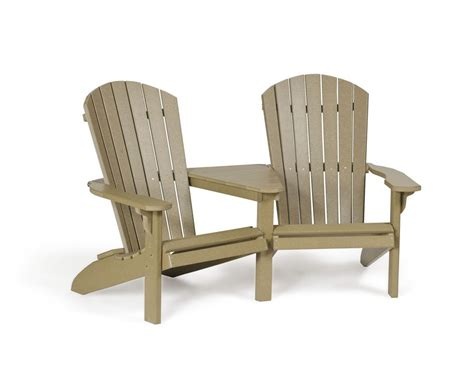 adirondack settee poly adirondack settee in pa and nj green acres outdoor
