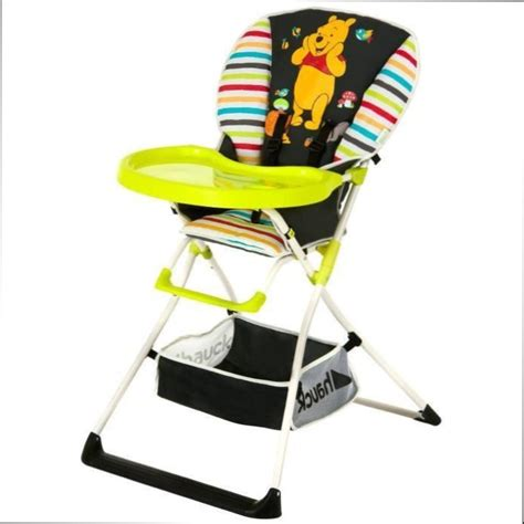 chaise haute chaise haute mac baby deluxe winnie l ourson