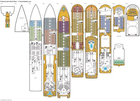 deck plans com seabourn quest deck plans cabin diagrams pictures
