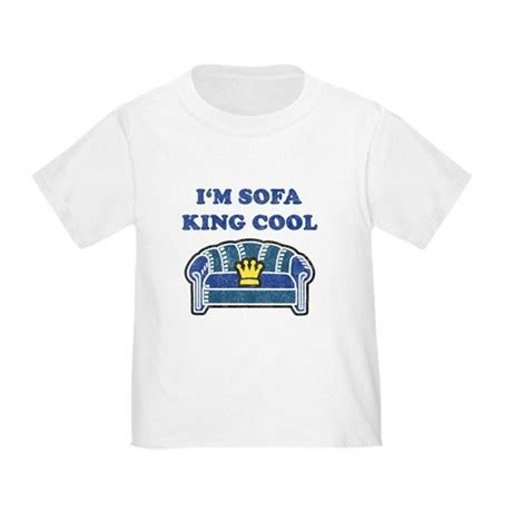 Sofa King Cool by Sofa King Cool T Shirt Light Colors Toddler T Shirt