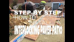 How To Install A Paver Patio With Step By Step