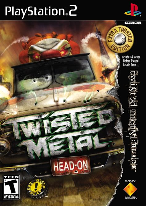 Twisted Metal Head On Sony Playstation 2 Game