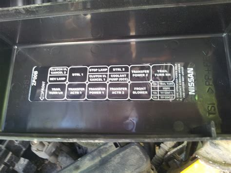 nissan frontier fuse panel diagram wiring library