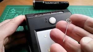 Review  Grde 10-led Solar Motion Sensor Light