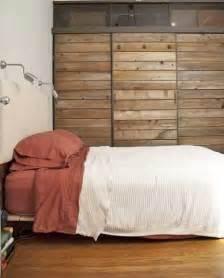 Reclaimed Wood Sliding Closet Doors