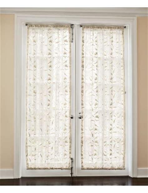 window treatments for doors casual cottage