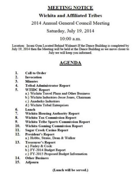 meeting agenda templates excel  formats