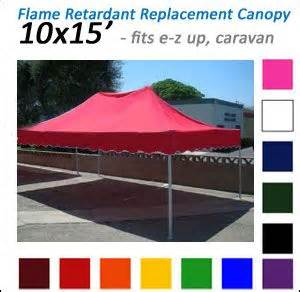 flame retardant canopy top  ez  models red blue white pink green