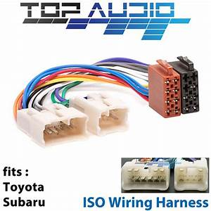 Toyota Iso Wiring Harness Aurion Avalong Camry Celica Hilux Plug Loom Connector