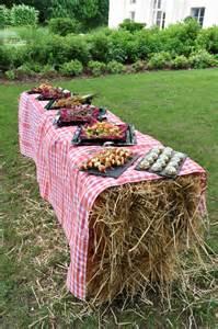 decoration mariage pas cher paille les utilisations au jardin