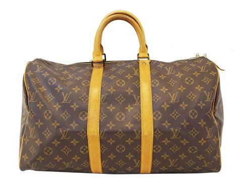 LOUIS VUITTON Keepall 45 Monogram Duffle Vintage Travel Bag
