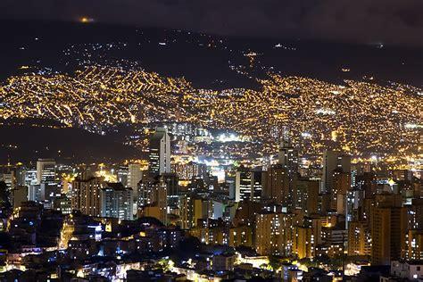 medellin city  night medellin colombia genius journey
