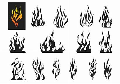 Flames Flame Fire Brushes Photoshop Fuego Flammen