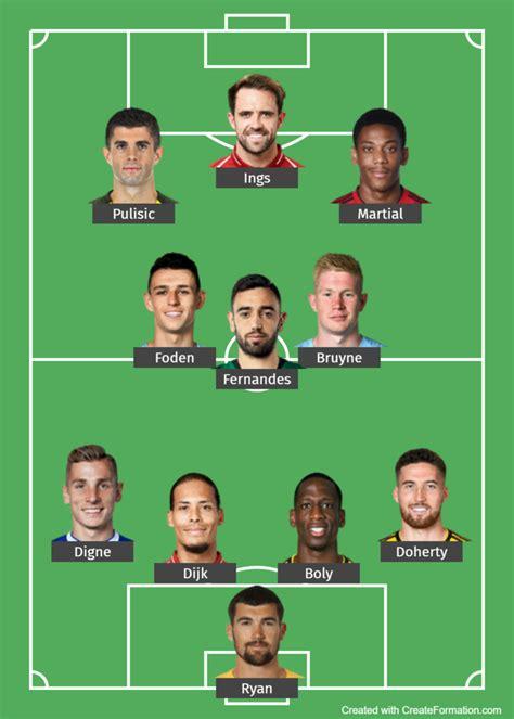 Premier League – team of the month – – june 2020 ...