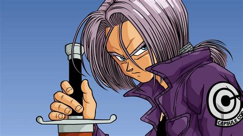 Dragon Ball Z, Trunks (character), Blue eyes, Saiyan ...