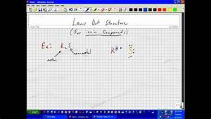 Lewis Dot Structure K2s Wmv