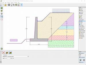 Cantilever wall geotechnical software geo fine