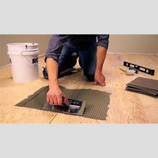 Rona  How To Lay Floor Tiles  Youtube