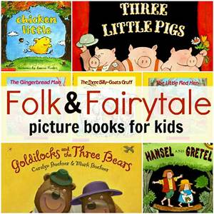 Folk & Fairytale Books from Scholastic Book Clubs No