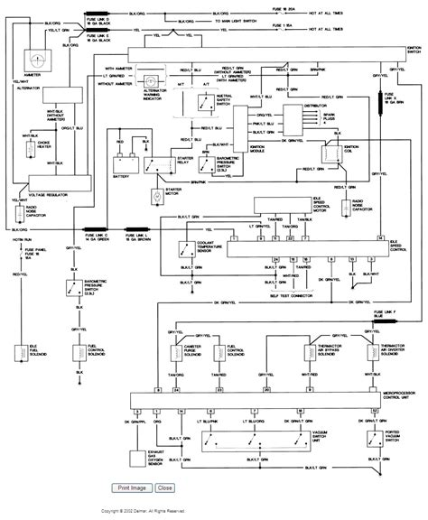 1985 Ford Ranger Wiring Diagram i need the electrical wiring diagram for a 1985 ford