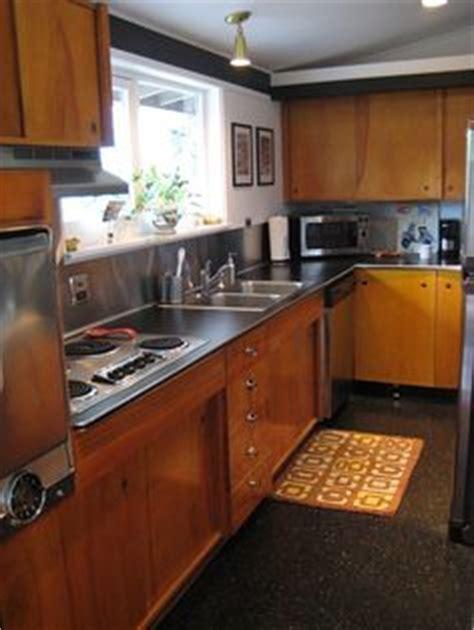mid century modern kitchen flooring 1000 images about mid century modern kitchen on 9165