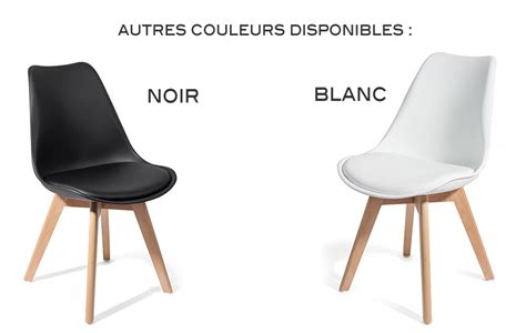 cdiscount table et chaise de cuisine 4 chaises brekka design contemporain nordique scandinave