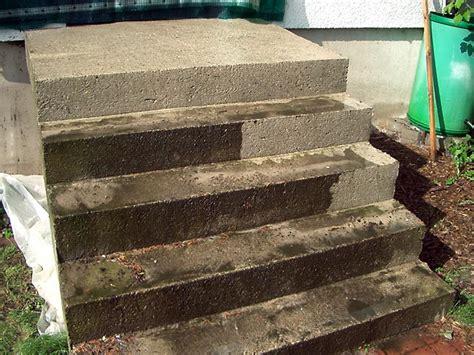 Sanierung Einer Stahlbetonaussentreppe Mit