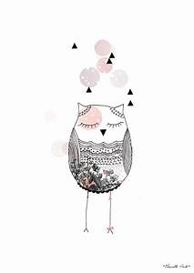 1000 idees sur le theme chouettes sur pinterest hibou With affiche chambre bébé avec fleurs en tissus pour cimetiere