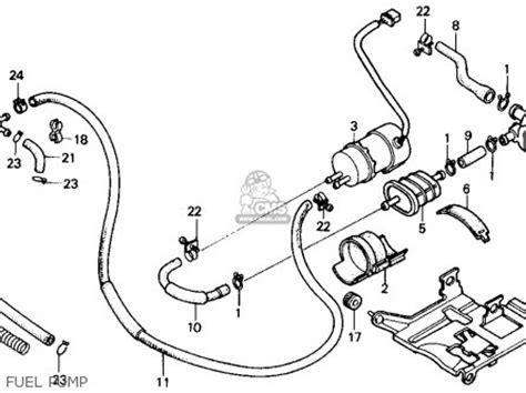honda vtc shadow  usa parts list partsmanual partsfiche
