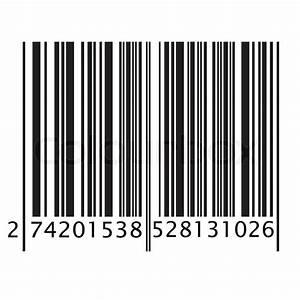 Isolated Bar Code On White Background