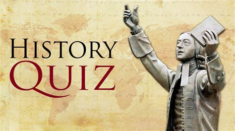 United Methodist Church History Quiz  The United