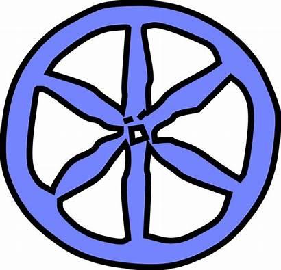 Wheel Clip Clipart Train Wheels Antique Cartoon