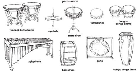HD wallpapers percussion family coloring page