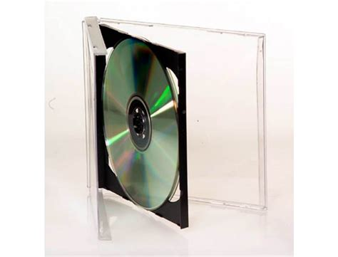 cd jewel case cd dvd with black inserts 100 box