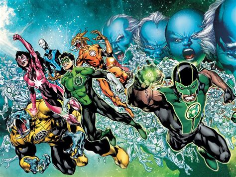 northwest comics green lantern corps wallpaper