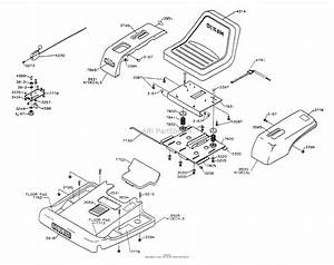 Dixon Ztr 3304  1996  Parts Diagram For Body Assembly