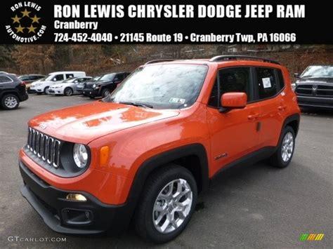jeep renegade interior orange 2016 omaha orange jeep renegade latitude 111328340