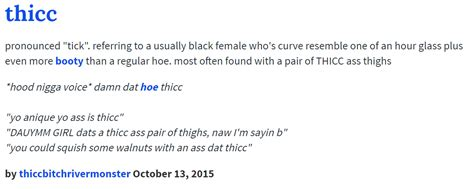ud definition thicc   meme
