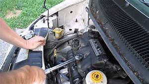 How To Change Spark Plugs Dodge Caravan 3 3l Engine Part 4 Putting Everything Back Together