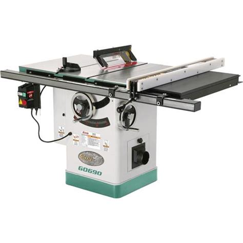 Grizzly Tools Cabinet Saw by 10 Quot 3hp 220v Cabinet Table Saw With Riving Knife Grizzly